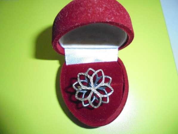 Комплект НОВЫЙ: кольцо + кулон, серебро 925
