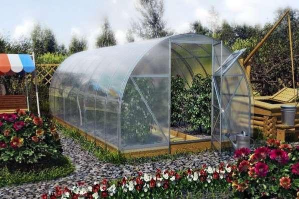Теплицы садовые. Металлоконструкции.