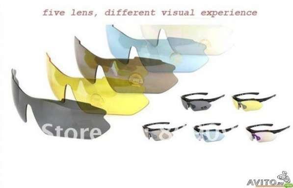 Спортивные очки со сменными линзами + с диоптриям