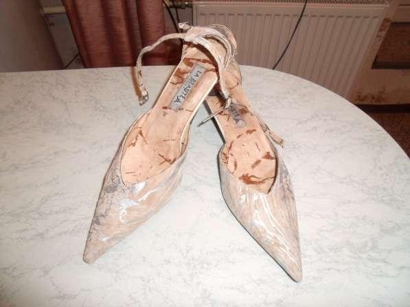 Роскошные туфли La Beauty Франция р. 37