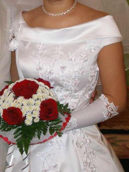 Продается белое свадебное платье