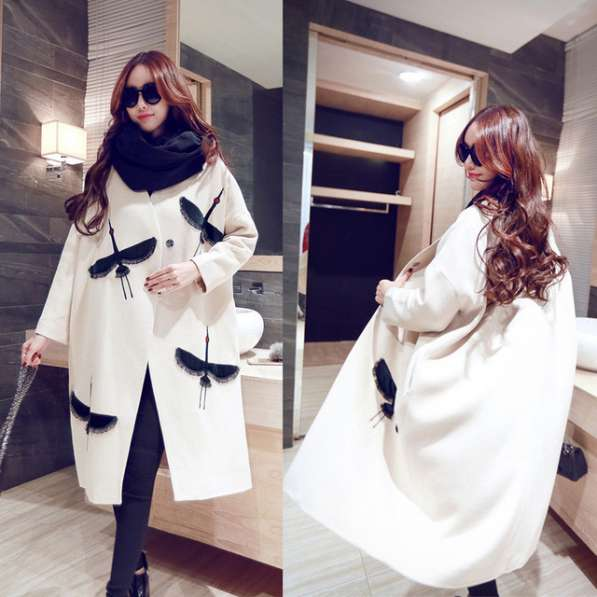 Новое стильное пальто