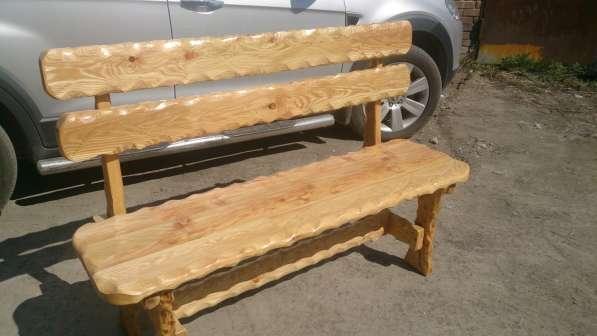 Столы, лавки для бани и дачи
