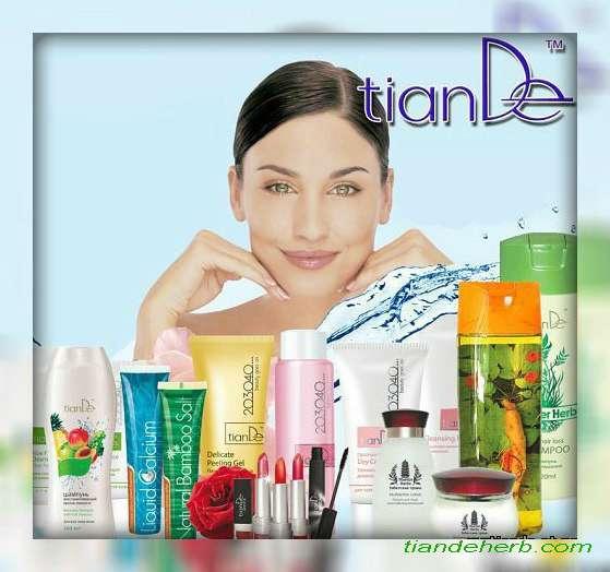 ТианДе натуральная комсетика для ценителей здоровья, красоты