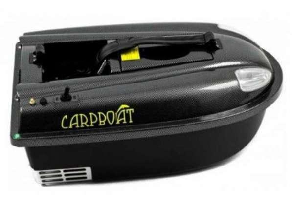 Кораблик для прикормки рыбы Carpboat Mini Carbon, рыбалка в фото 3