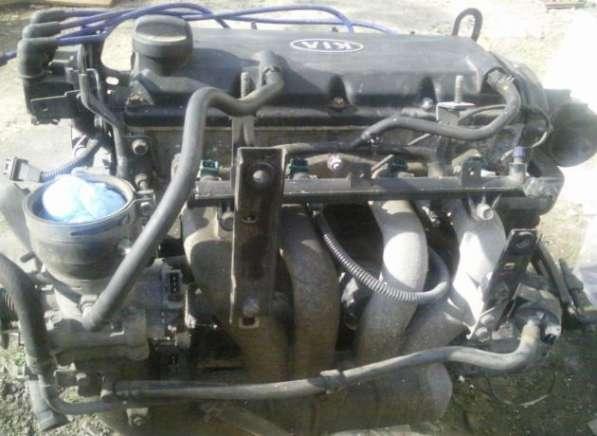 Двигатель с навесным на киа рио 2001