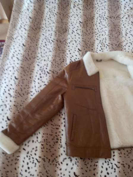 Кожанная куртка на меху в Югорске фото 4