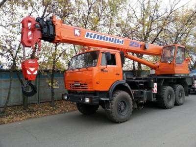 Услуги - аренда автокранов г/п 25т, автовышки 18м, г. Выборг