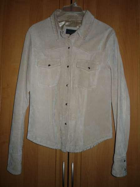 Куртка замшевая Miss ff