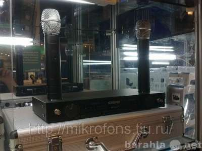 SHURE BETA 89-радиосистема-2 микроф.КЕЙС