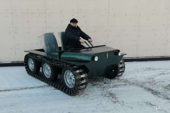 Вездеход Егоза «Охотник-1» в Иркутске фото 8