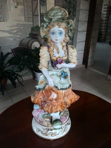 Парные фафроровые статуэтки Италия 68 см в Перми фото 4