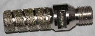 Фреза пальчиковая D25mm h50mm 1/2GAS мрамор