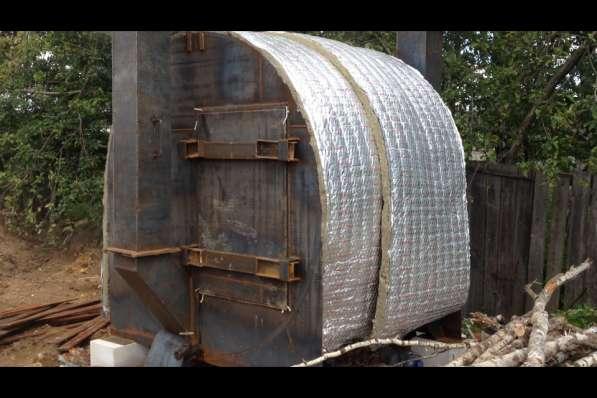 Углевыжигательная печь Чародейка 4,5 м3