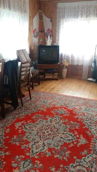 Дом-дача из бруса, обложен кирпичом. Московское направление в фото 6