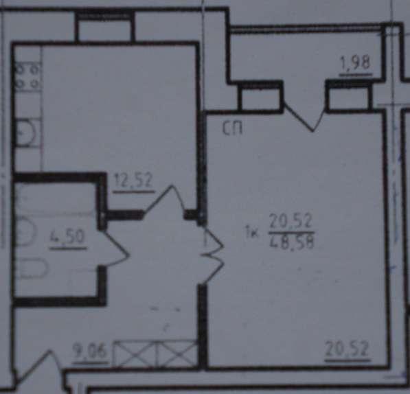 1-комнатная квартира в кирпич доме в Дзержинском р-не(46 м2) в Ярославле фото 13