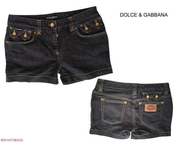 Dolce&Gabbana женские джинсовые шорты новые S 100% authentic