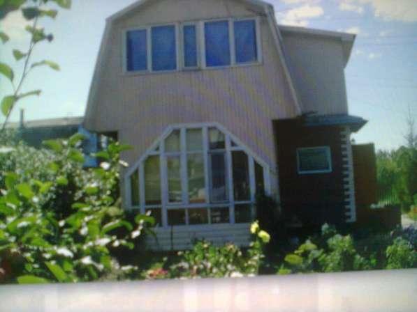 Продаю дачный 2-х этажный дом в снт Искра омского района