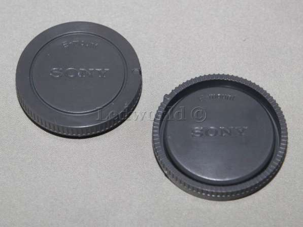 Комплект байонетных крышек для Sony NEX (E-mount)