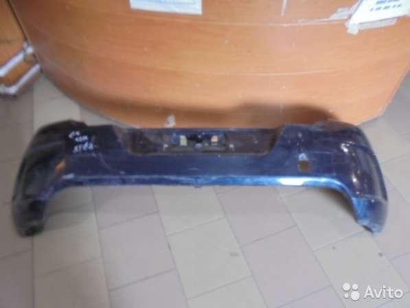 Бампер задний для Ситроен С4 2012 года хэтчбек (Citroen)