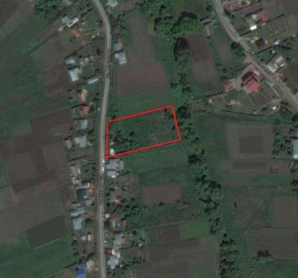 Продается земельный участок под строительство жилого дома