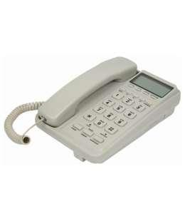 Стационарный проводной телефон с ЖК дисплеем