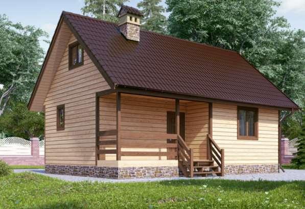 Дом деревянный с дровяной баней, 2эт. второй свет, 60кв м