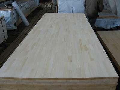 Клееный мебельный щит из ангарской сосны