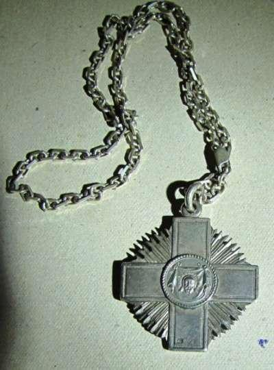 Знак отличия кандидатов богословия, 1880 фабрика Алексеева Ивана А Знак отличия