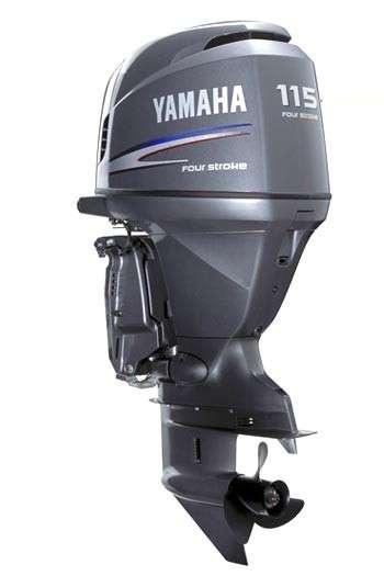 Мотор лодочный Yamaha F115BETL