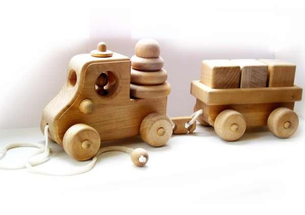 Игрушки деревянные в Москве фото 7