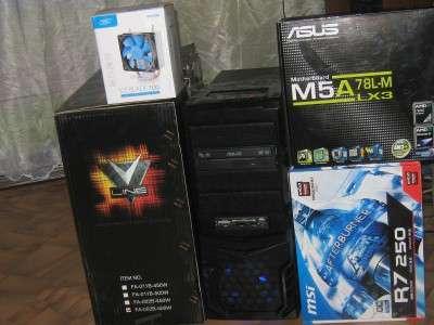 Новый системный блок amd fx 8300 r7 250 hdd 1tb