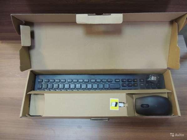 Dell беспроводные клавиатура + мышь