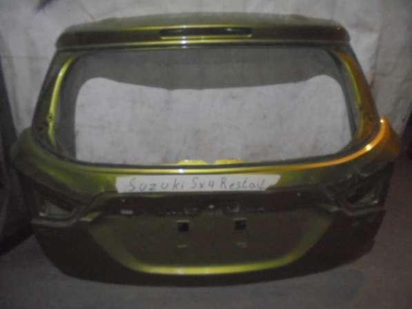 Сузуки сх4 багажник