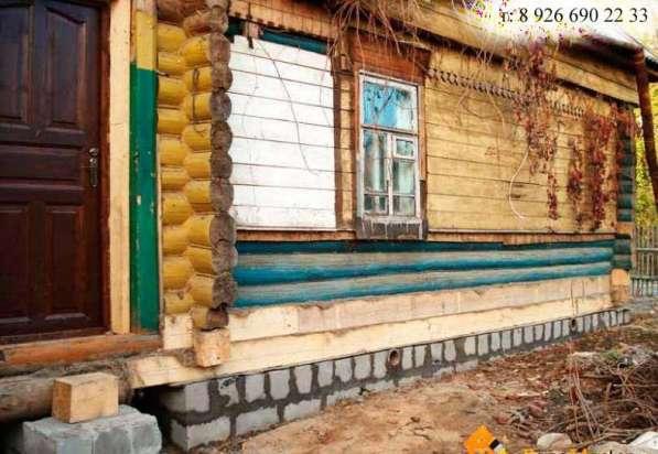 Заменить гнилые бревна в деревянном доме в Раменское фото 4