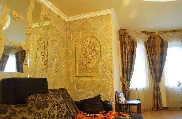 Ручная лепнина, барельеф, декор стен в Сергиевом Посаде фото 4