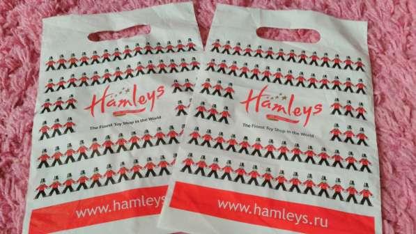 Hamleys маленький пакет при покупки из профиля для детей