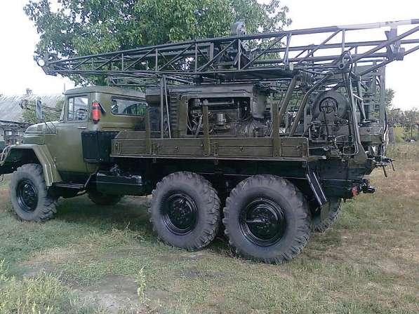 Буровая установка УГБ 50 на базе Зил 131 с промывкой