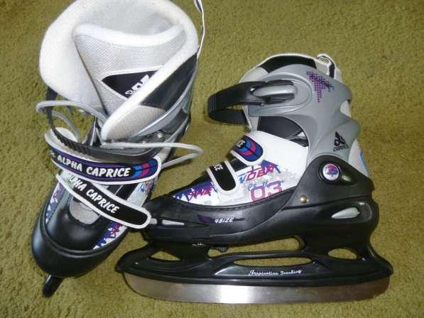 Коньки хоккейные ALPFA CAPRICE. PW-190 GREY. SIZE L(38-41)