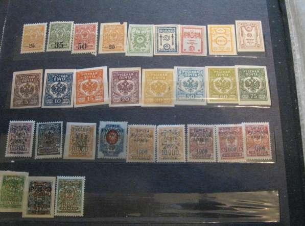 Марки гражданской войны 1919-20 г. и русской почты в Китае