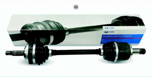 Привод левый ВАЗ 2110-12,2170-72,2190 (без ABS) Лада-Имидж