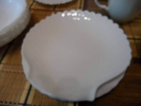 Замечательные посуда из белого фарфора+ стеклянная в Санкт-Петербурге фото 11