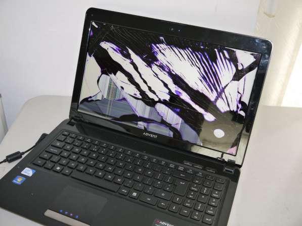 Замена экрана (матрицы) на ноутбуке