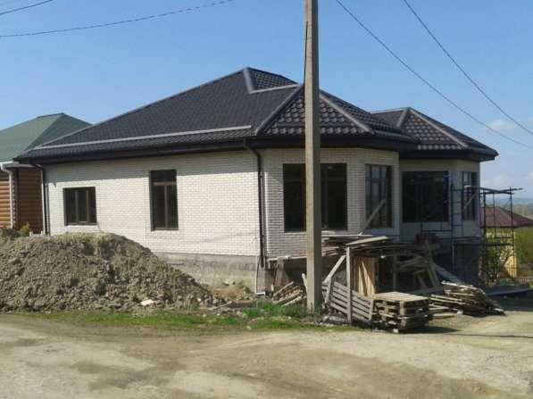 Загородный коттедж с предчистовой отделкой в 10 км от Анапы