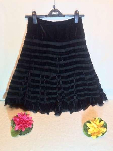 Новая бархатная юбка 44-46(М)