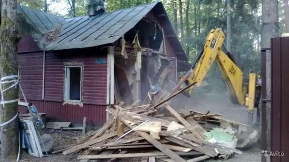 Демонтаж домов стен пола любые демонтажные работы