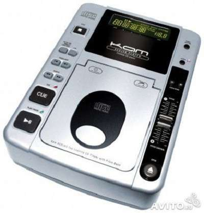 DJ CD проигрыватели с верхней загрузкой KAM KCDJ-50