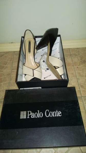 Туфли Paolo Conte, натуральная кожа, 40 размер
