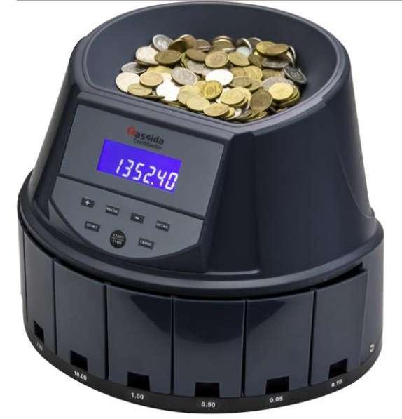 Сортировщик счетчик монет Cassida CoinMaster