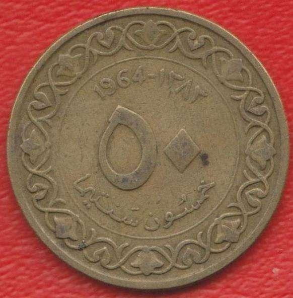 Алжир 50 сантимов 1964 г